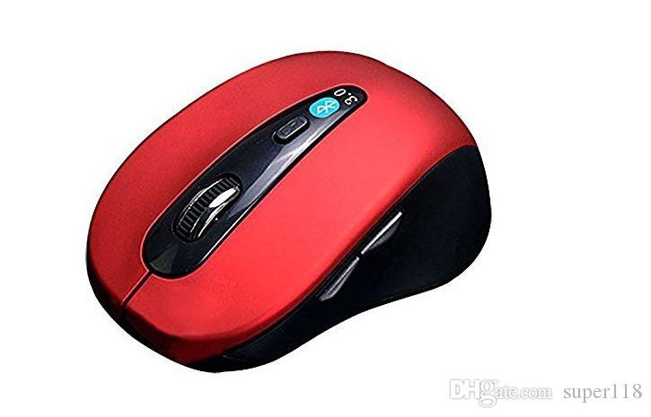 Venda direta da fábrica baixo preço atacado sem fio bluetooth 3.0 mouse, 6D mouse novo bluetooth tablet telefone do mouse