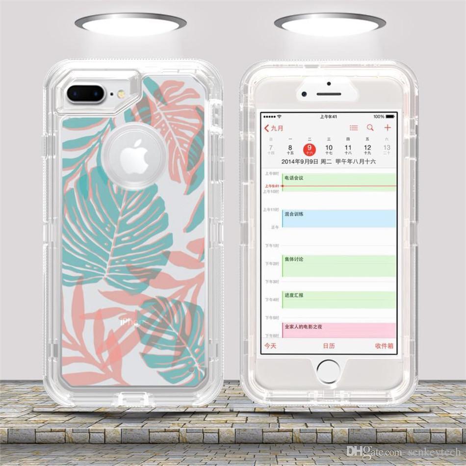 Custodia Samsung S5 Custodia Cellulare Trasparente 3 In 1 IPhone