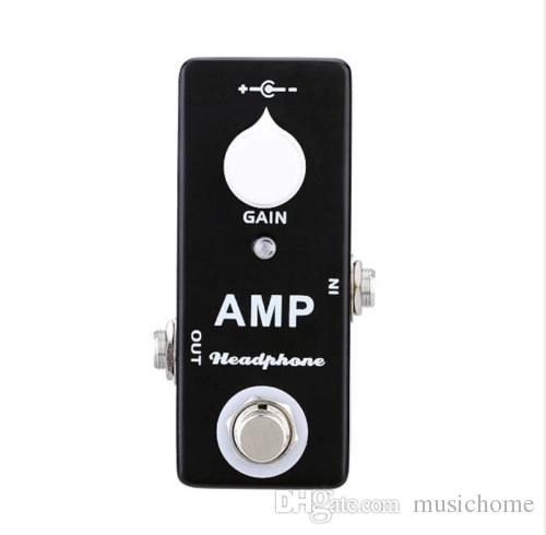2019 mosky amp headphone amplifier mini guitar effect pedal mxr microamp style from musichome. Black Bedroom Furniture Sets. Home Design Ideas