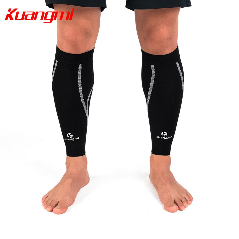 51a5dbdbcc 2019 Kuangmi Calf Compression Sleeves Knitted Fabric Leg Warmers Running  Shin Guard Sports Calf Socks Support Pain Relief From Peachguo, $29.96 |  DHgate.Com