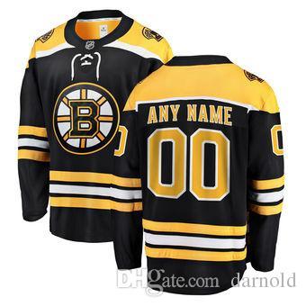 16025b20 2018 nhl hockey jerseys cheap custom Boston Bruins Fanatics Branded Black  Home Breakaway Custom Jersey store usa sports ice hockey jersey AD