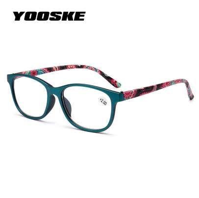 2099be6e5f Compre YOOSKE Hombres Ultraligero Irrompible Gafas De Lectura Mujeres Anti  Fatiga Lentes De Lectura Presbicia Femenina Prescripción Gafas A $11.43 Del  ...