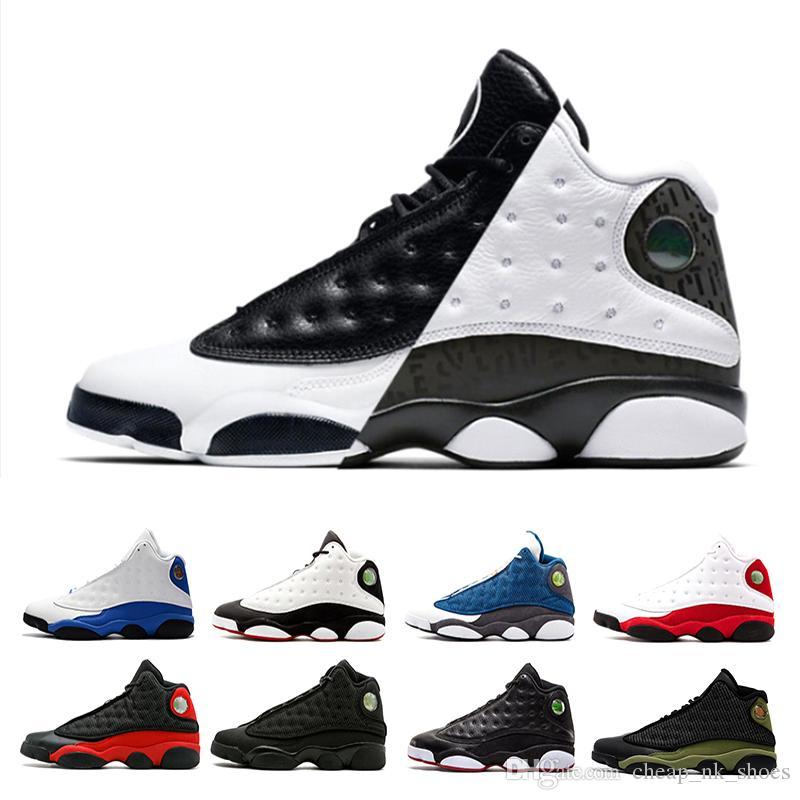 202d172959a Designer 13 He Got Game Phantom Men Basketball Shoes Black Cat Bred ...