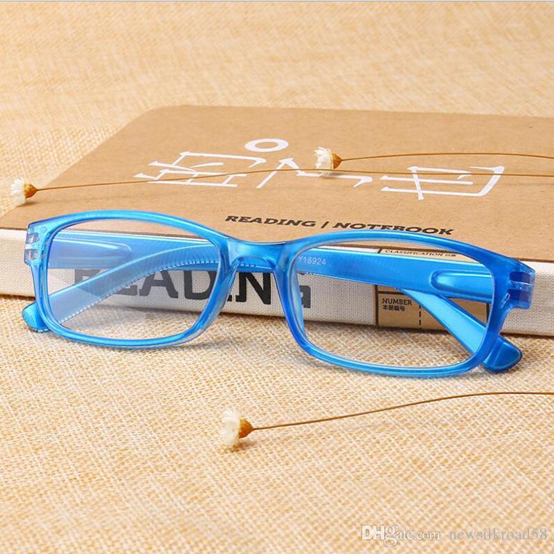 46489d4c7d3 Fashion Toughness Reading Glasses PC Full Frame Glasses Presbyopic Women  Men HD Resin Lens Glasses for Reading HD Lens Reading Glasses Full Frame  Reading ...
