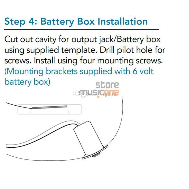 3-полосный эквалайзер с тюнером укулеле гитары Pickup Бесплатная доставка