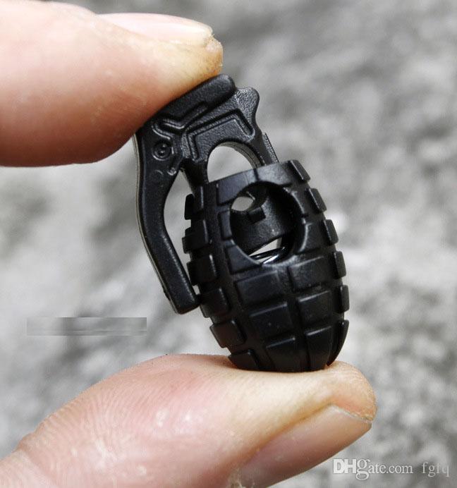 EDC Gear Tactical Outdoor Escursionismo Stivali Scarpe Laccio Stringimento Non-Slip Buckle Buckel Clip Fibbia Spedizione gratuita