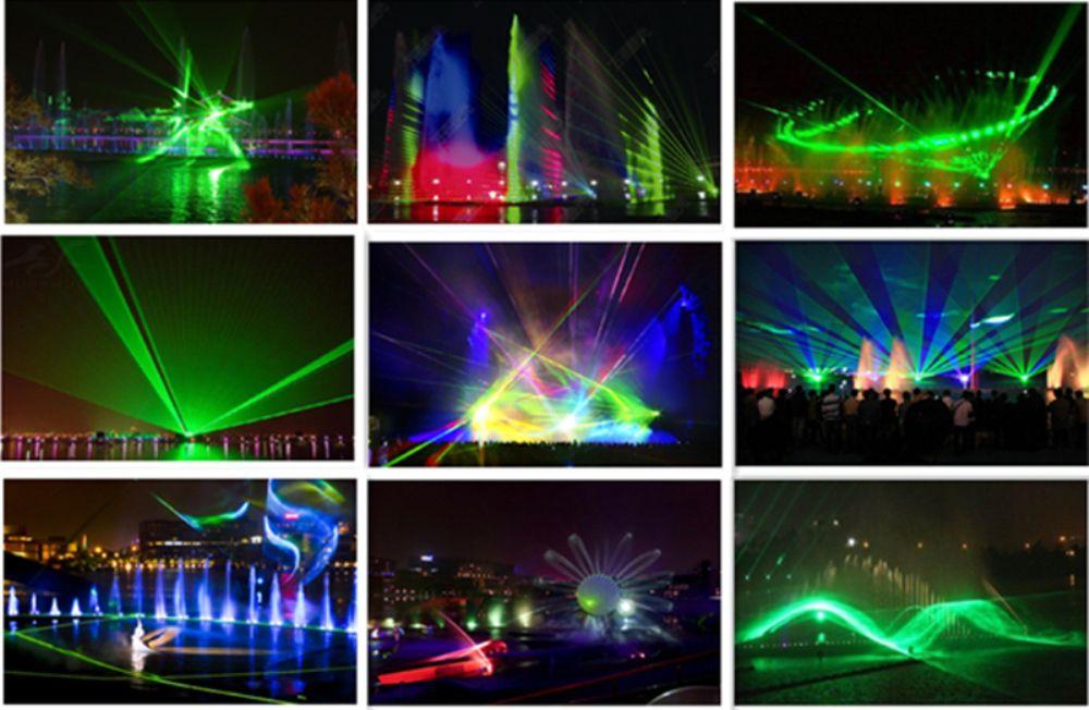Mini Proiettore Effetto Luci Laser Per Disco Discoteca Dj.Acquista Scenografia Natalizia Proiettore Rgb Laser 20w Dj Lighting