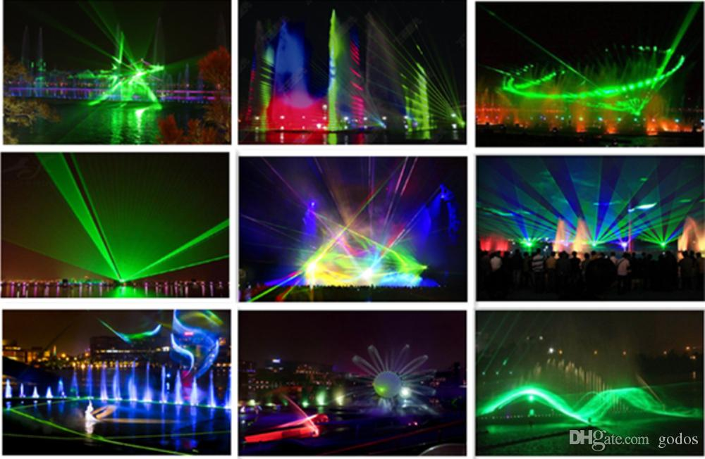 stage text christmas projector rgb laser 20w dj lighting rgb