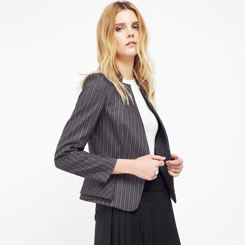 2018 C Impress Women Blazer Suits Quality Jacket Female Tops Costume