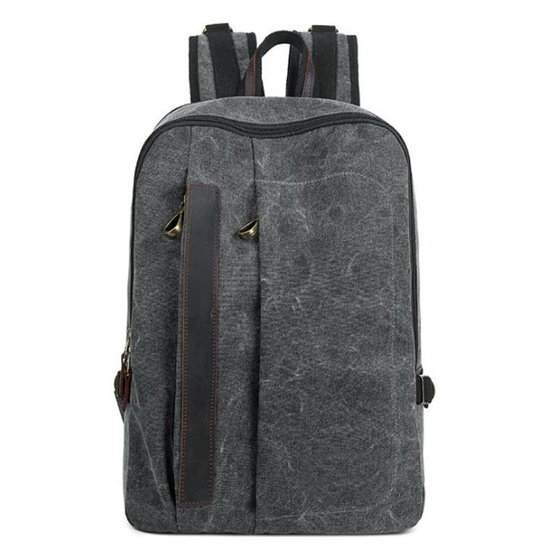 2018 New Canvas Backpack Trend Female Backpack Men S Casual Outdoor