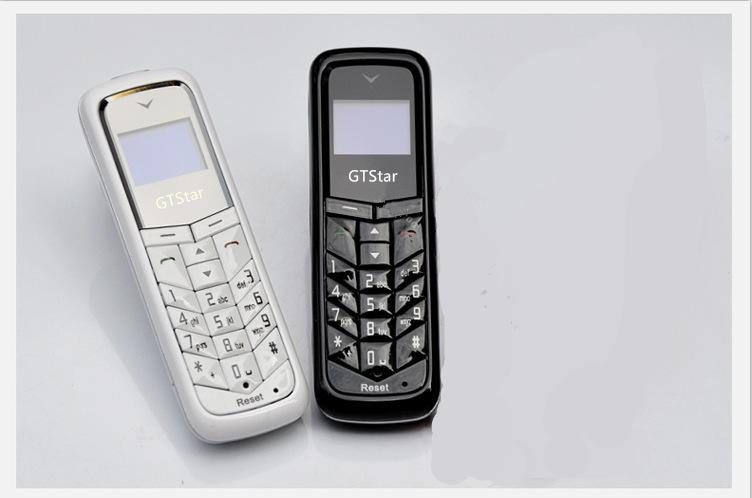 Original GT-Star BM50 Unlocked Mini Mobile Phone Bluetooth Dialer 0.66 inch With Hands Free Cell Phone in Stock