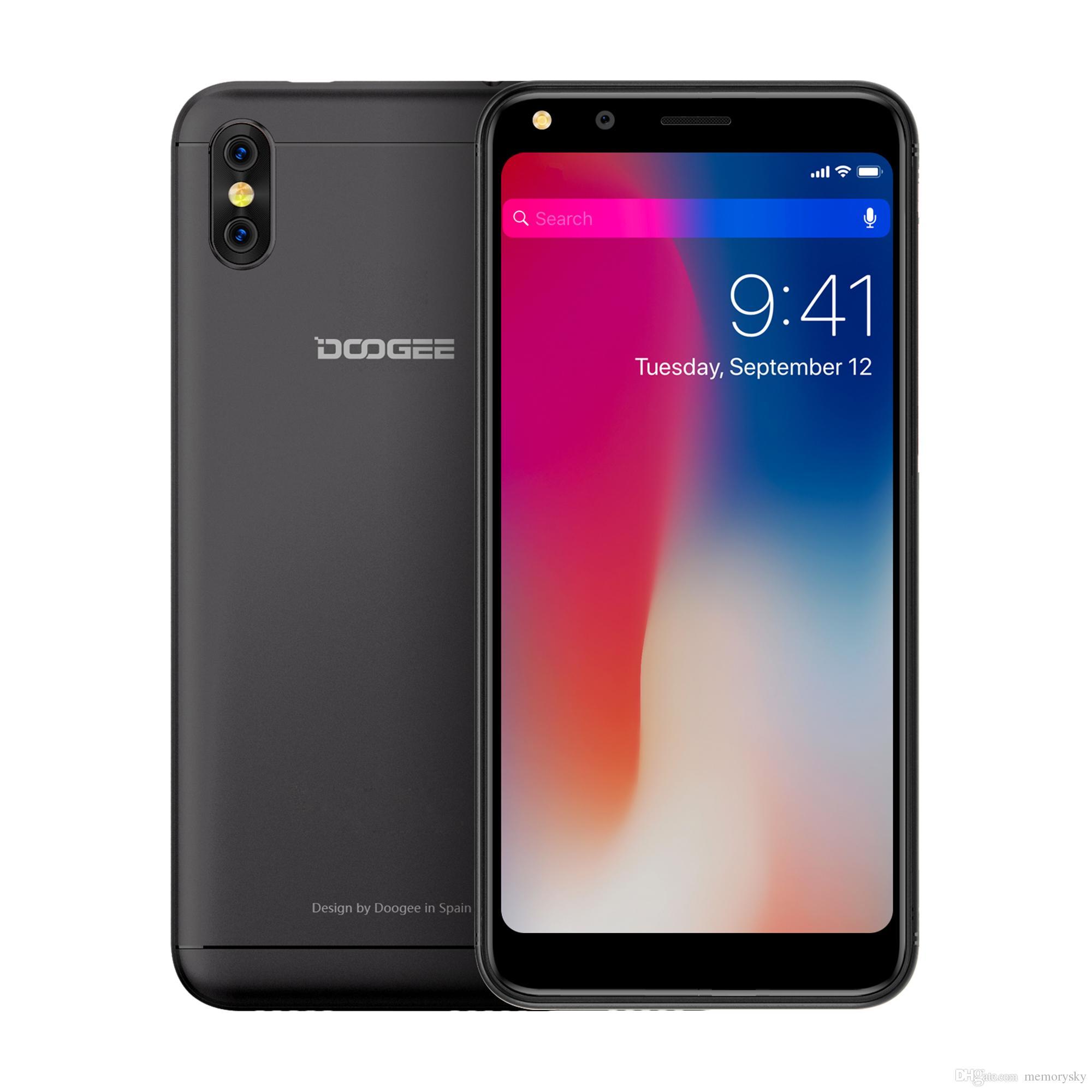 Doogee X53 Quadcore 1GB RAM 16GB ROM MT6580M Android 7 0 3G Dual sim 5 0  Cell phone [Wholesale]