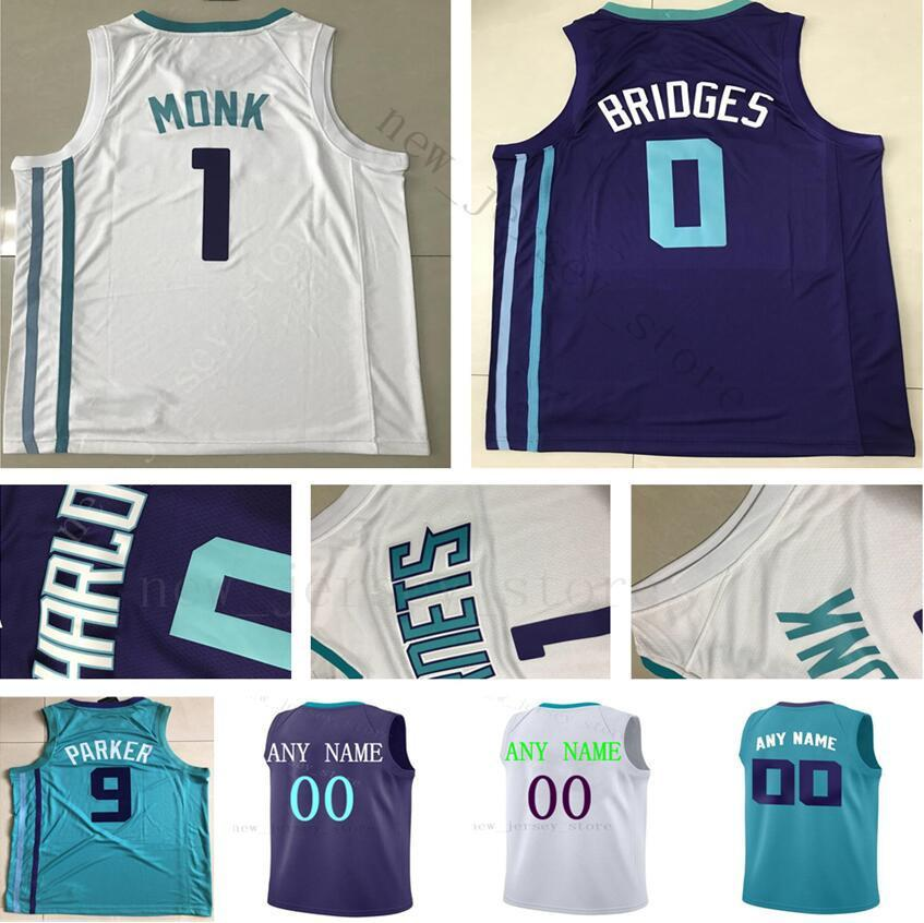 Custom Printed CharlotteHornetsJerseys Top Quality Purple Green White Jersey.  Message Number And Name on the Order. Any Name And Number. ec05a3d98