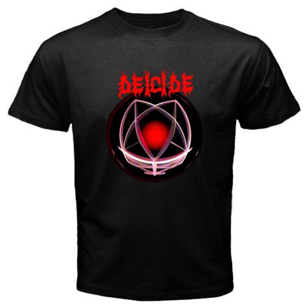 Men's Shirt T Deicidelegion Black Rock M New Metal Size S L Band ordxCBe