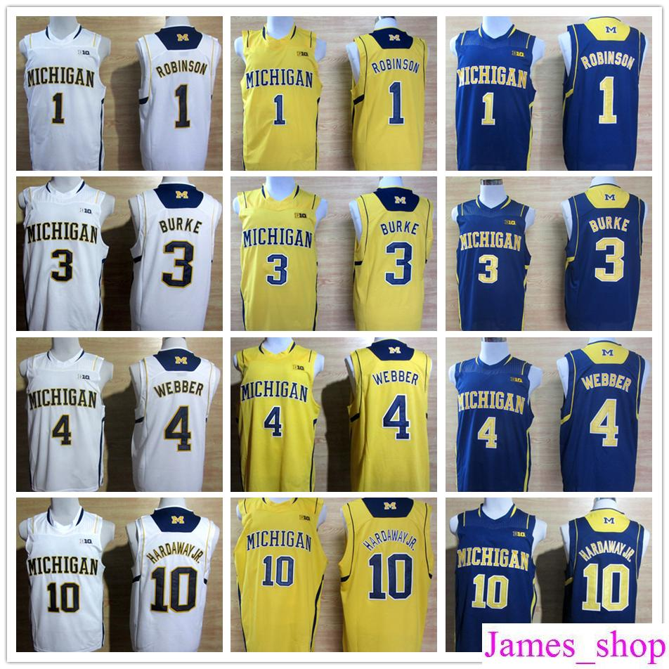 8004ca4bb Michigan Wolverines 1 Glenn Robinson III 3 Trey Burke Mens 4 Chirs ...