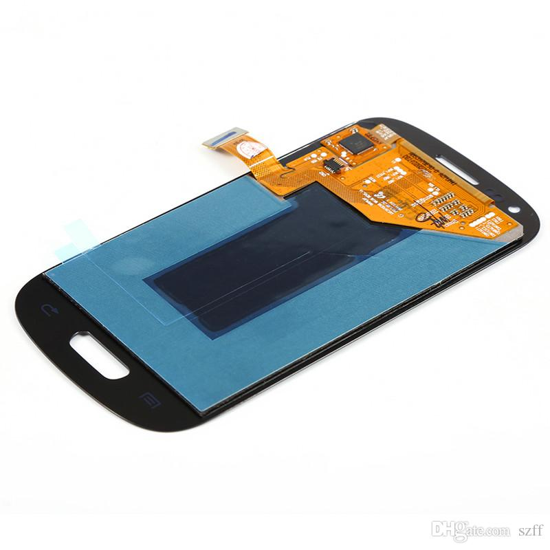 For Samsung Galaxy SIII Mini S3 I8190 I8190N I8195 i8200 LCD Display Touch Screen Digitizer Assembly by DHL