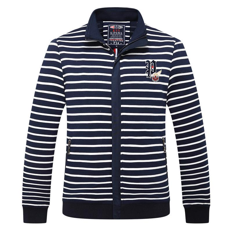 Autumn/winter men s shark comfortable high quality class jacket men s  casual trend coat M-4XL 2018