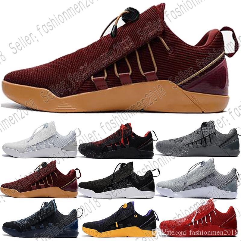 big sale 05388 5c986 Großhandel mit Box Kobe A. D. Nxt 360 Gelb Streik Mamba Tag Multicolor Mens  Basketball Schuhe Für 12 Wolf Sport Turnschuhe Chaussures Größe 40 46 Von  ...