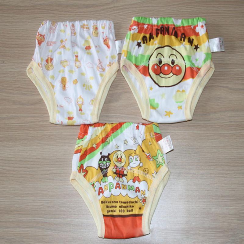 Pantaloncini neonati da bambino da 3 strati Pantaloncini l'allenamento del bambino Pantalone in tessuto neonati Biancheria intima Pannolini in stoffa ragazza Boy SY002