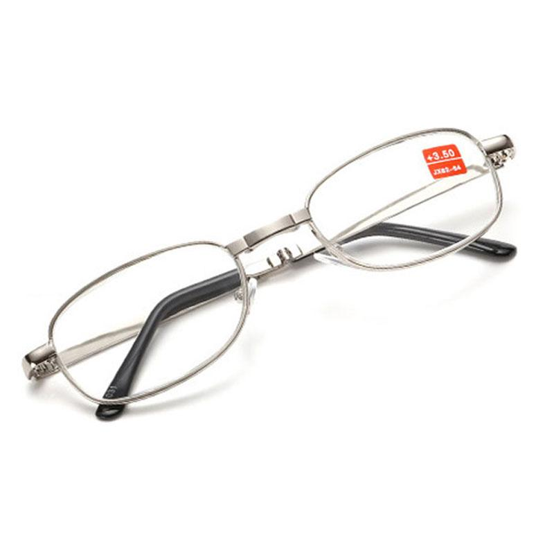 4cce0e78392 Good Quality Full Metal Frame Glass Lenses Female Male Reading Age ...