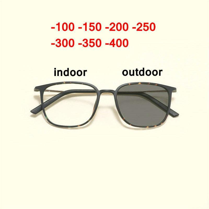 bea9c1056ca Men Fashion Sun Photochromic Glasses Ultra Light Frame Classic ...