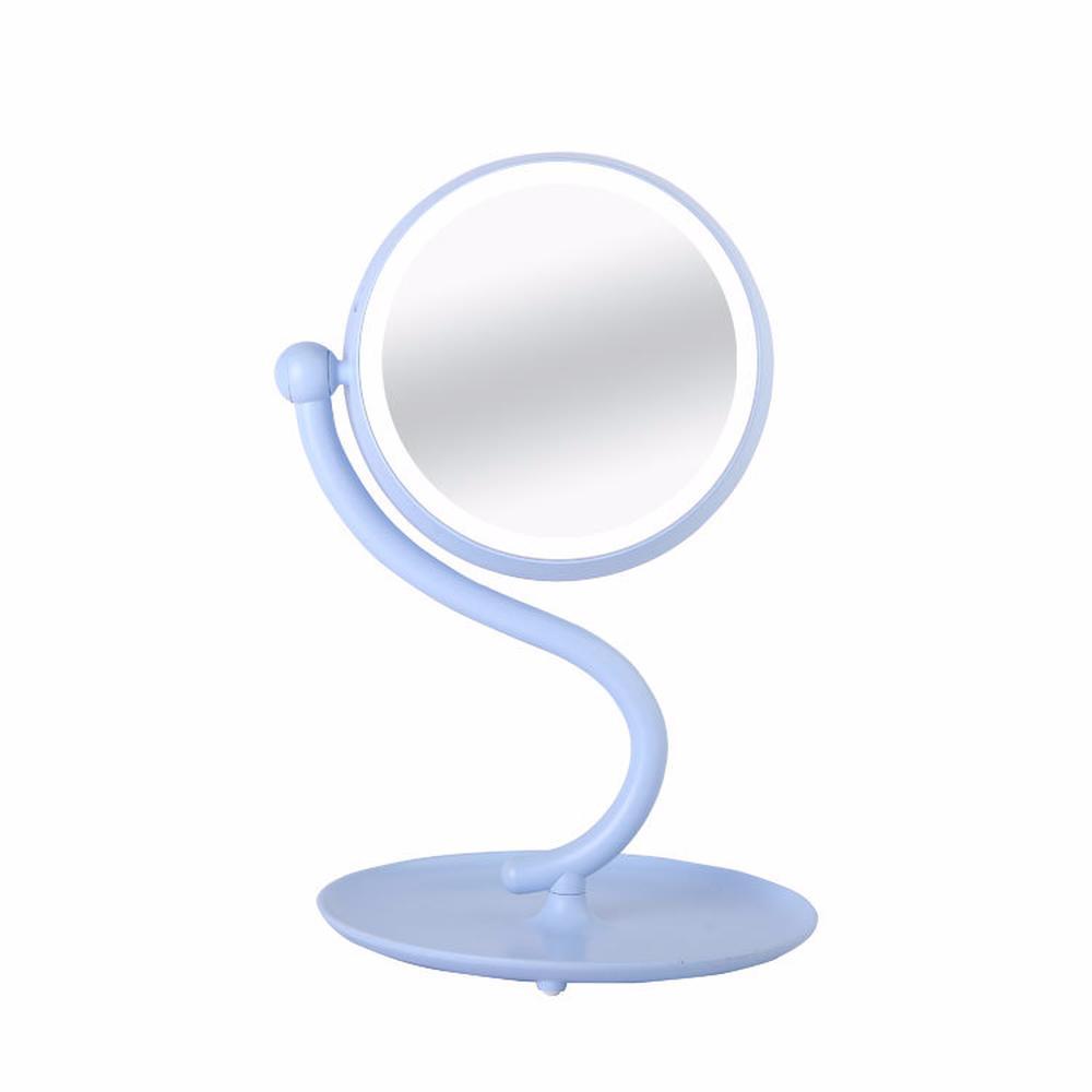 Vintage Design Tragbare Größe Make-up Spiegel Frauen Gesichts Make-up Kosmetische Desktop Kosmetik Spiegel Werkzeuge Spiegel Haut Pflege Werkzeuge