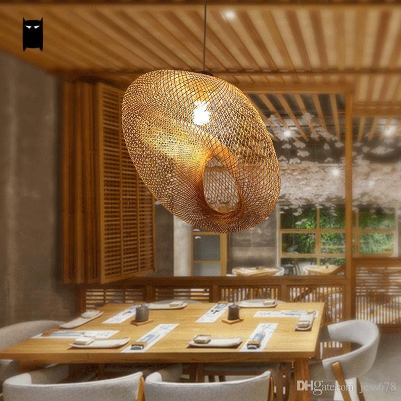 acheter luminaire en osier de rotin en bambou pendentif luminaire