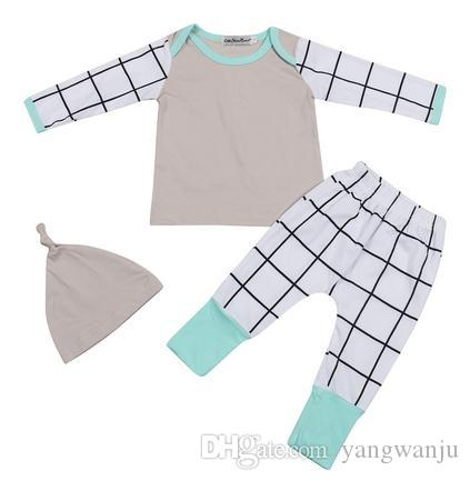 2017 autumn style baby boy clothing sets cotton long sleeve infant suit baby boys clothes newborn toddler outfits
