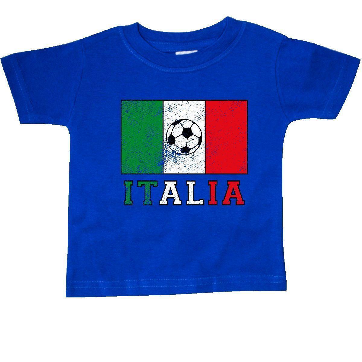 Inktastic Italian Soccer Baby T Shirt 0pinkinkart Flag Futbol Italia