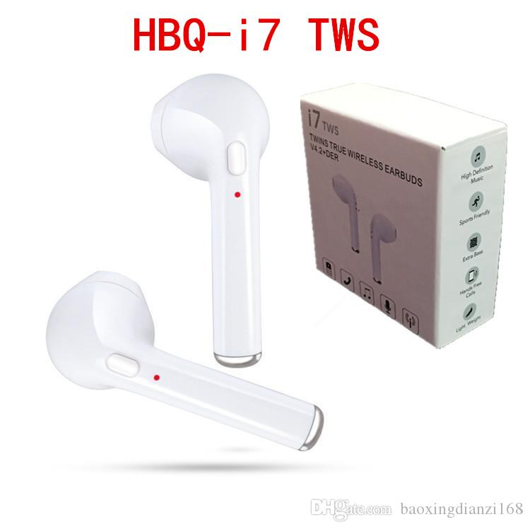 2e15328dede New Arrival HBQ I7 TWS Twins True Wireless Earbuds Mini Bluetooth V4.2 DER  Stereo Headset Sports Headphone For IPhone 7 Galaxy S8 Handsfree Phone  Headset ...