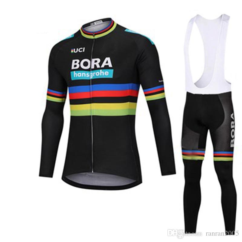 2019 Team Bora Cycling Jersey Bike Pants Set Camisetas De Ciclismo Conjunto  Ropa De La Bicicleta Hombres Ropa De La Bicicleta Bike Clothes Bike Jersey 2e4168898