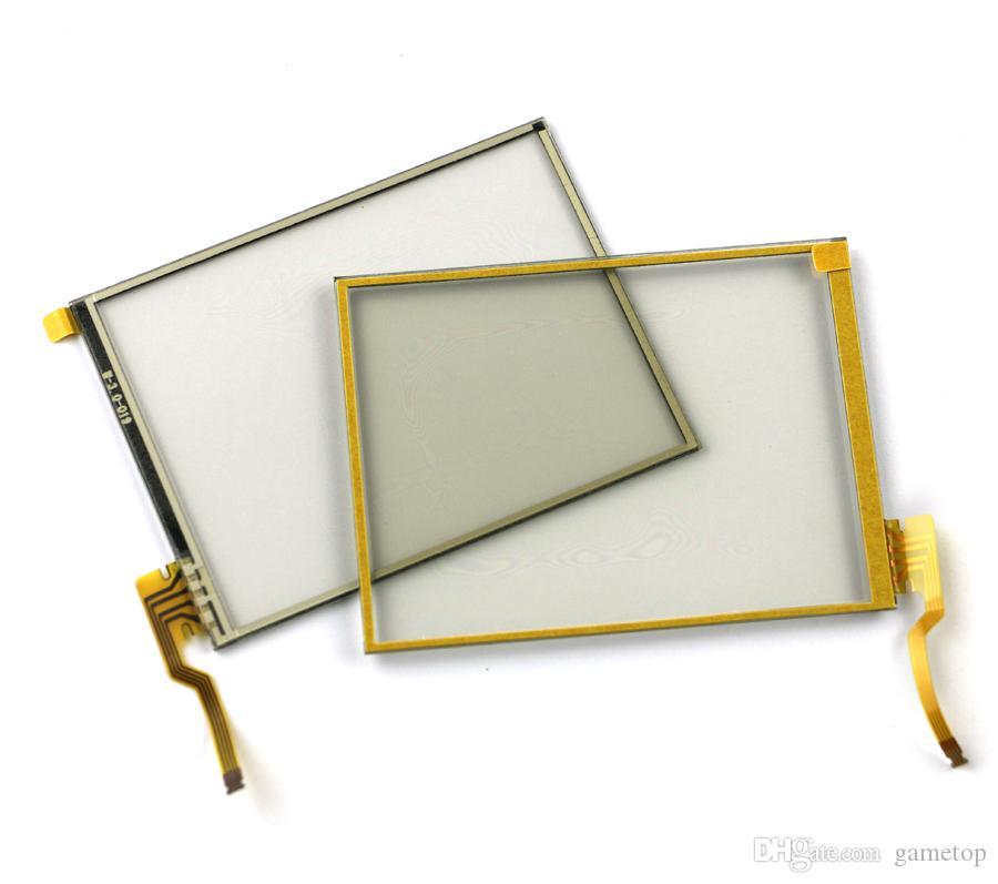 Almofada de reposição da almofada do digitador da tela de toque da substituição para 2DS com adesivo