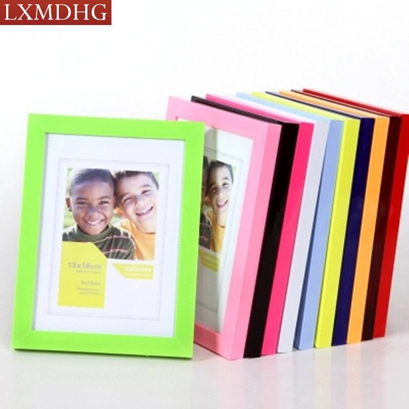 Online Cheap Plastic Photo Frame For Photo Picture Frames Home Decor