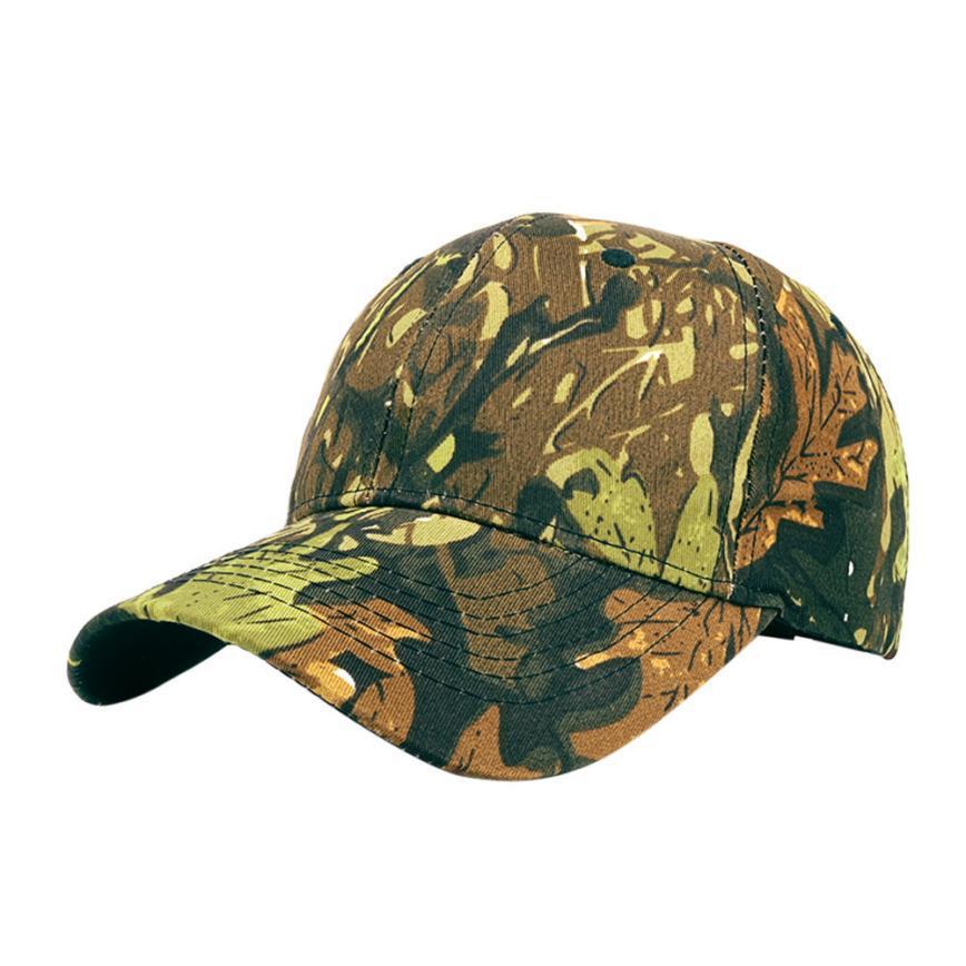715ec33b994 Women Men Tactical Outdoor Camouflage Sports Cap Cap Hat Sports Caps ...