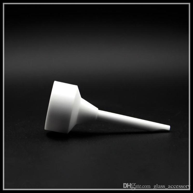 Ceramica Domeless Chiodo Carb Cap 14mm 18mm Maschio Femmina Uso congiunto tubi d'acqua Olio di pompaggio narghilè