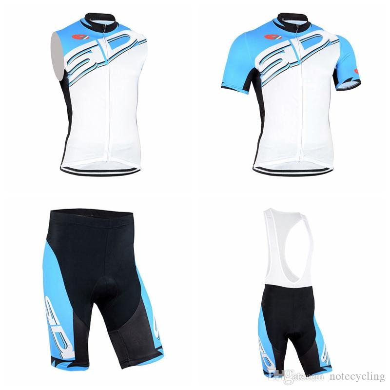 SIDI Cycling Short Sleeves Jersey Bib Shorts Sleeveless Vest Sets Hot 4  Different Styles Ropa Ciclismo Bike A Variety Of Options A41741 Bicycle  Cycle Gear ... 056087145