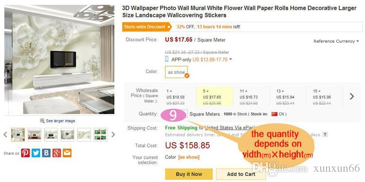 3d TV parede de fundo papel de parede sala de estar sofá wallpaper quarto grande afresco perfeita quente flor roxa Tamanho personalizado