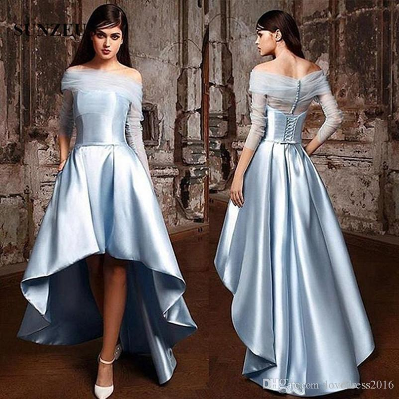 Button Up Prom Dress