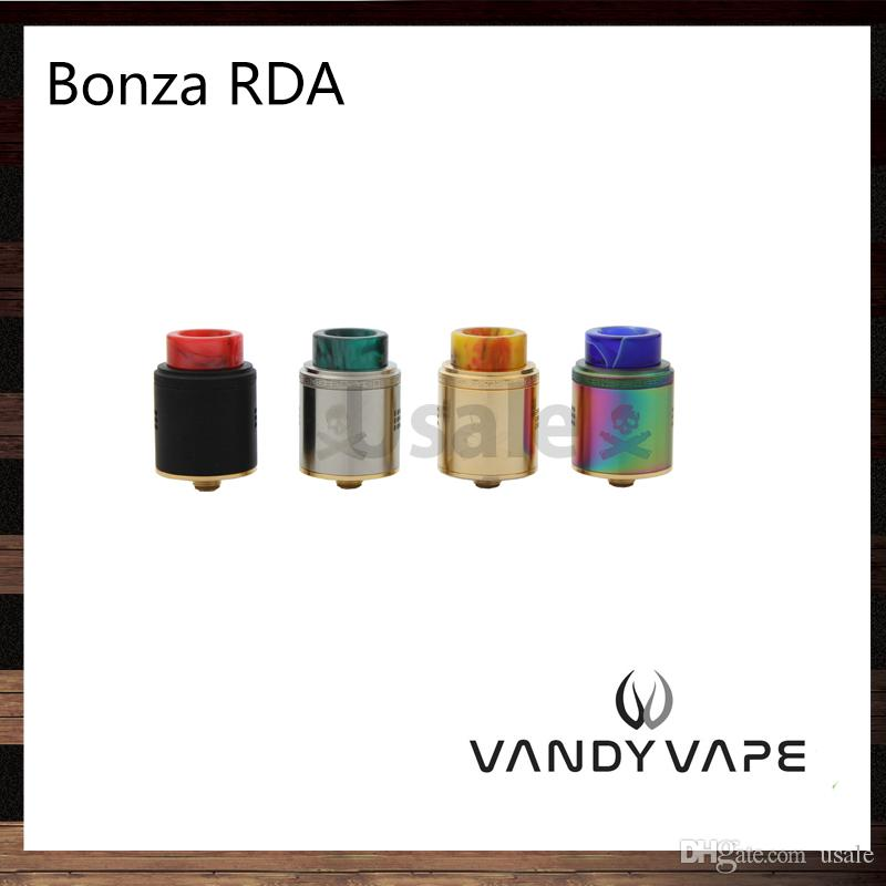 Vandy Vape Bonza RDA 24mm Single or Dual Coil Fixed Screw Clamp Post For  Squonk and 510 PIN Designed by The Vaping Bogan 100% Original