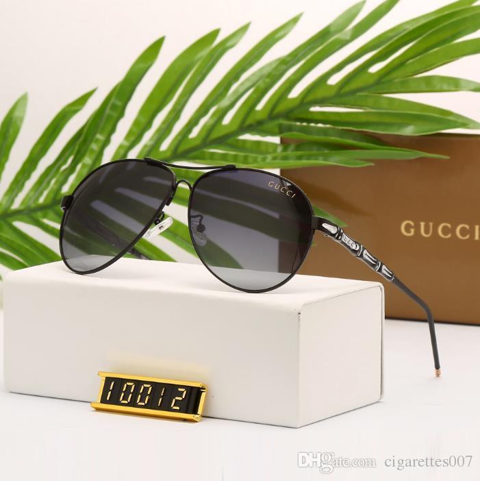 fb6fc210e95 2018 Men 10012 Sunglasses New Retro Full Frame Glasses Famous Eyewear Brand  Designer Luxury Sunglasses Vintage Eyeglasses Cat Eye Sunglasses Round ...
