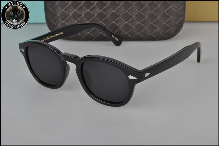 368140df6b 2018 Johnny Depp Round Sunglasses Men Women High Quality Acetate Vintage  Sun Glasses With Polariz Lens UV400 Literary Retro Cat Eye Sunglasses Round  ...