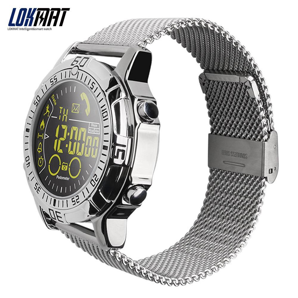c67dc4650 LOKMAT Smart Watch Waterproof Outdoor Sport Digital Clock Relogio Masculino Smartwatch  Men Watch For Ios Android Phone Smart Watches Cheap Smart Watches ...