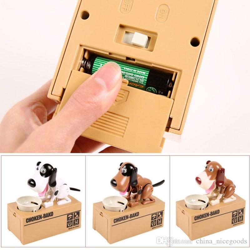 Robotic Dog Banco Canino Money Box Money Bank Automatic Stole Coin Piggy Bank Money Saving Box Moneybox Christmas Gifts for kid