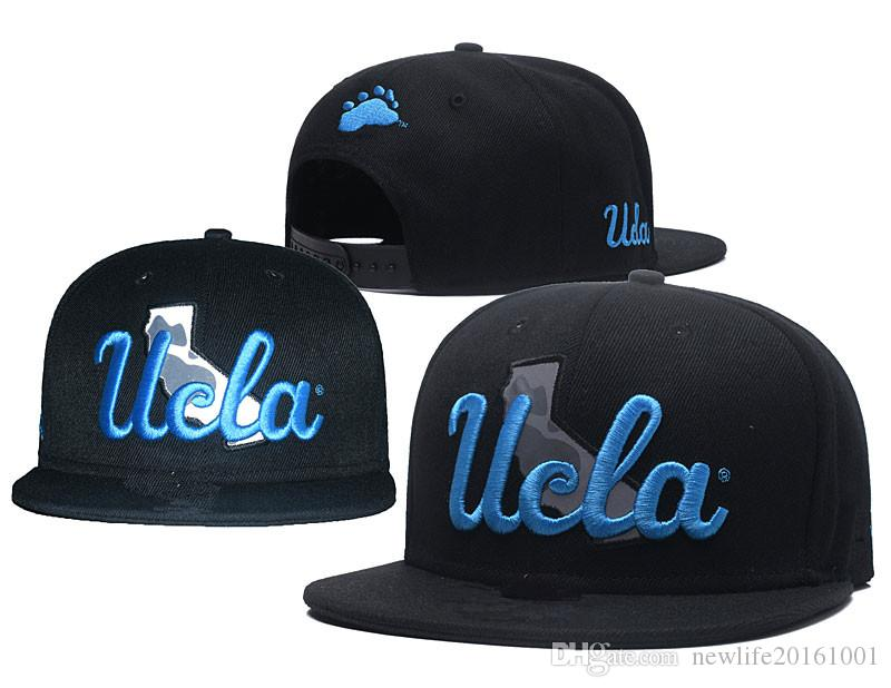 buy online 90e87 a2b79 2019 NCAA UCLA Bruins Snapback Caps 2018 New College Adjustable Hats All  University Caps Black Blue One Sze For All From Newlife20161001,  7.92    DHgate.Com