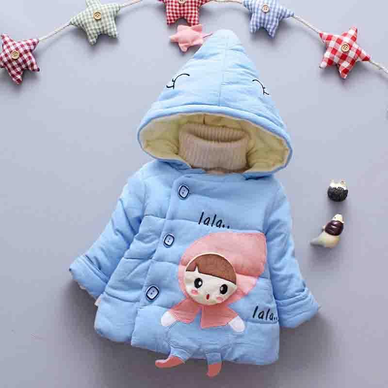 5ba6fb2aad6a BibiCola 0 24 Months Winter Newborn Baby Girls Coat Jacket 2018 New ...