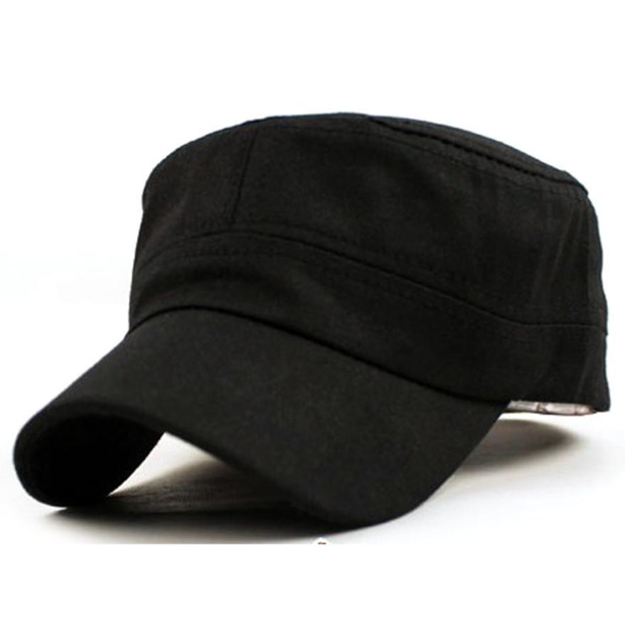 4a2ddfcb780 Best Fashion Men Women Multicolor Unisex Adjustable Classic Style Plain  Flat Vintage Army Hat Cadet Cat Flexfit Hats For Men From Frenky