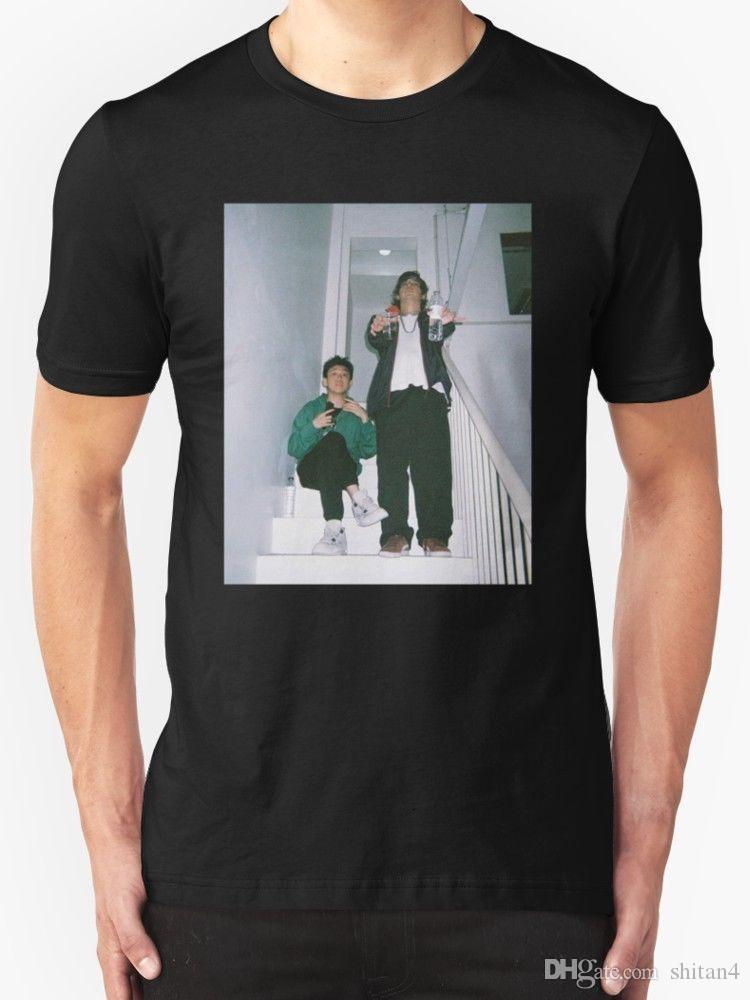New Joji and Rich Brian Men s T-Shirt Size S - 2XL Homme High Quality T  Shirt 100% Cotton