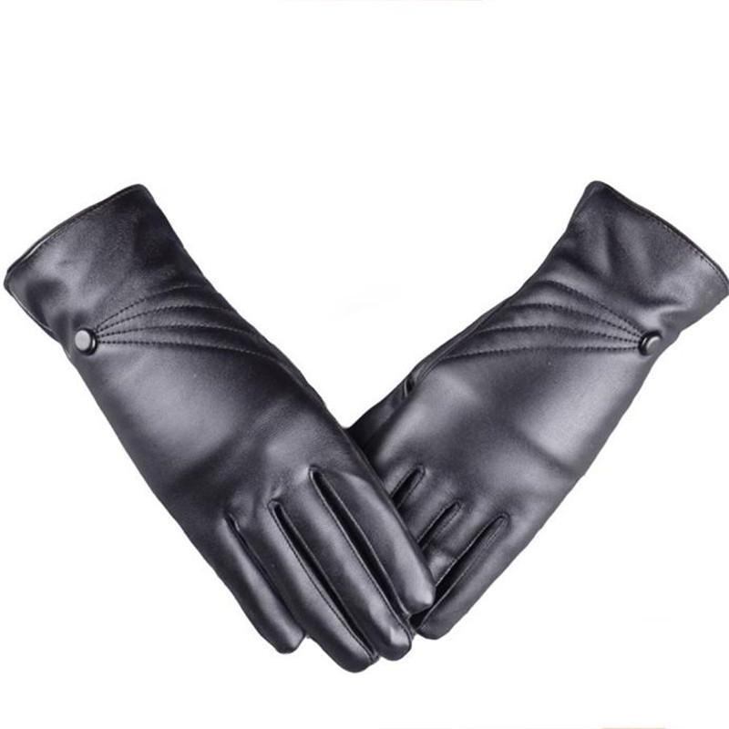 Men's Gloves Glove Winter Glove Wrist Arm Hand Warmer Knitted Long Fingerless Gloves Mitten Black Glove 2018 Fashion Solid Mitten Elegant C25