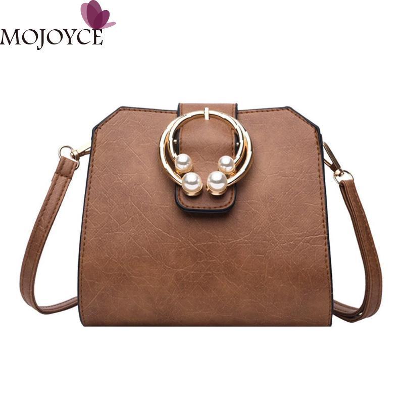 Women PU Leather Sling Messenger Bags Vintage Pearl Handbags Female  Crossbody Bag Retro Shoulder Bags 2018 Satchel Handbags Ladies Purses From  Gadarr c10d26eb0a37f