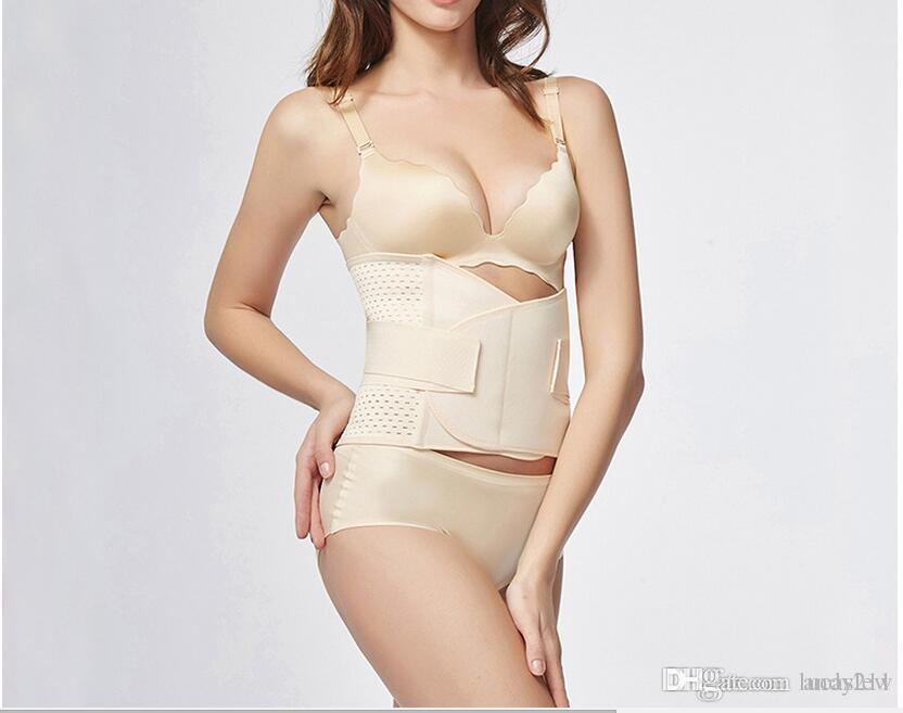 0a0ce89340 Women Corrective Underwear Recovery Belt Maternity Tummy Wrap Corset Post  Pregnancy Girdle Slimming Waist Belly Band Shapewear Online with   9.15 Piece on ...